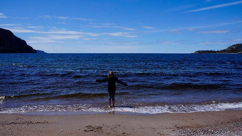 Fahrtag 3 - Lake Superior Provincial Park